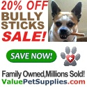 20% Off Bully Sticks Sale!